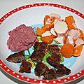 Galettes ou steaks de haricots rouges et maïs