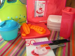 sushis party Tupperware