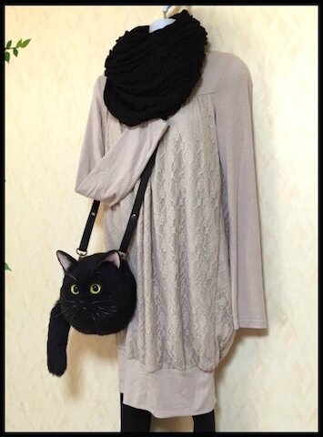 pico sac bandouliere chat 2