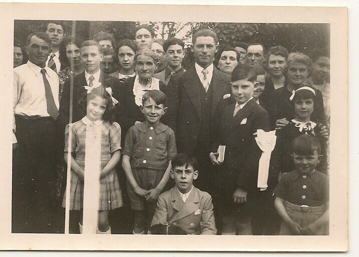 Michel Saillour entoure de sa famille