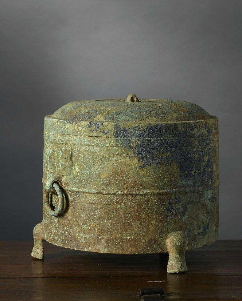Pot tripode, liêm ou lian, Vietnam, Période Hán-Việt, 1er-3e siècle