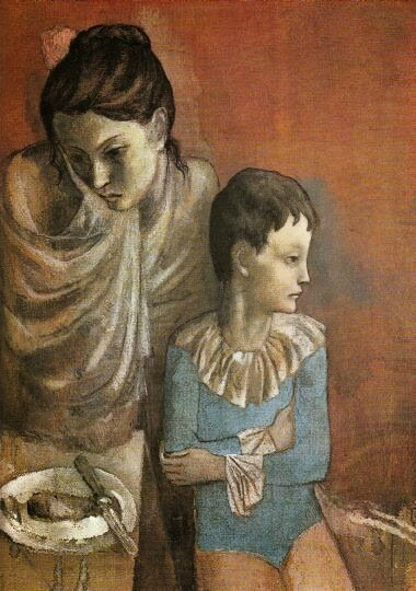 05 - Mère et enfant (Baladins) de Picasso, 1905
