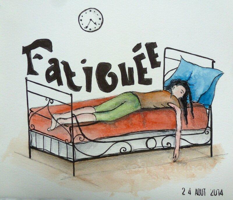 Défi n°74 Fatigue