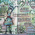 Art journal everyday