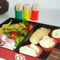 Bento train vol i :) :bento pique & croq'