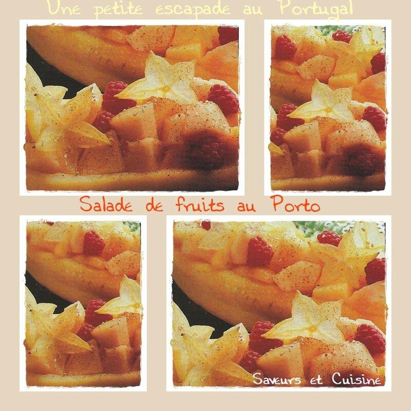 Salade de fruits au Porto