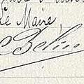 Belin marius de 1910 à 1917