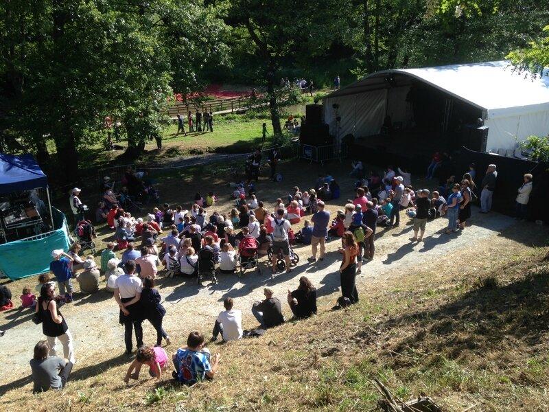 Les Hétéroclites festival 2015 Saint-Lo vallon de la Dollée site