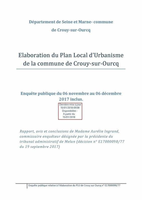 Rapport et conclusions enquête publique PLU Crouy-sur-Ourcq 01