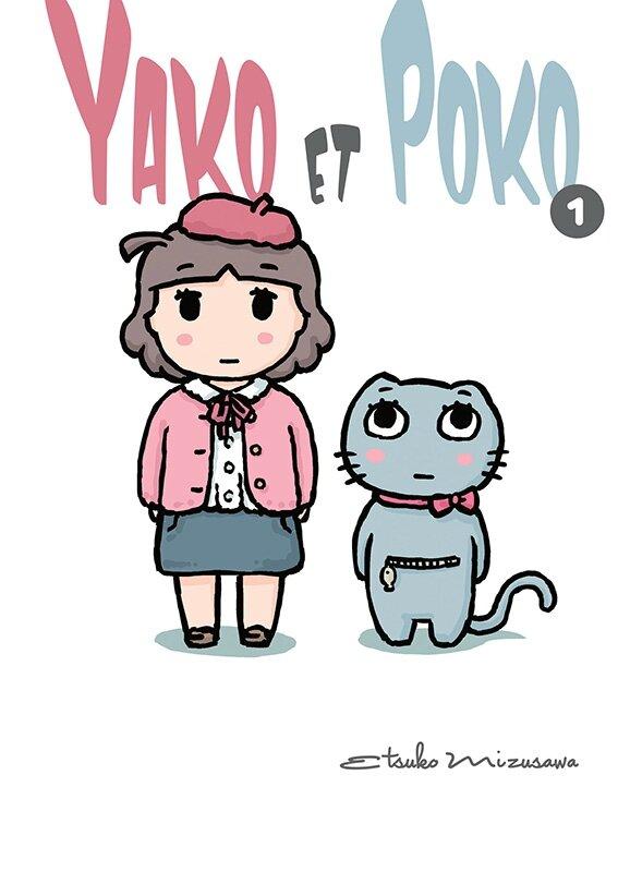 Yako et Poko, tome 01, Etsuko Mizusawa Komikku éditions