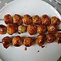 Yakitori (viande hachée de poulet)/ 焼き鳥、ツクネ
