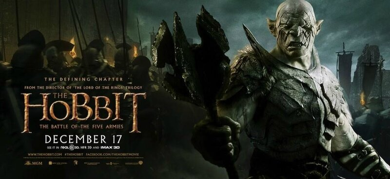 Banner Azog The Hobbit The Battle of the Five armies