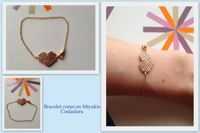 Bracelet coeur1