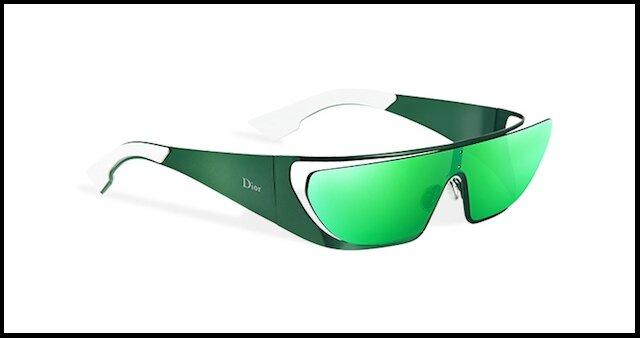 dior lunettes solaires rihanna vert