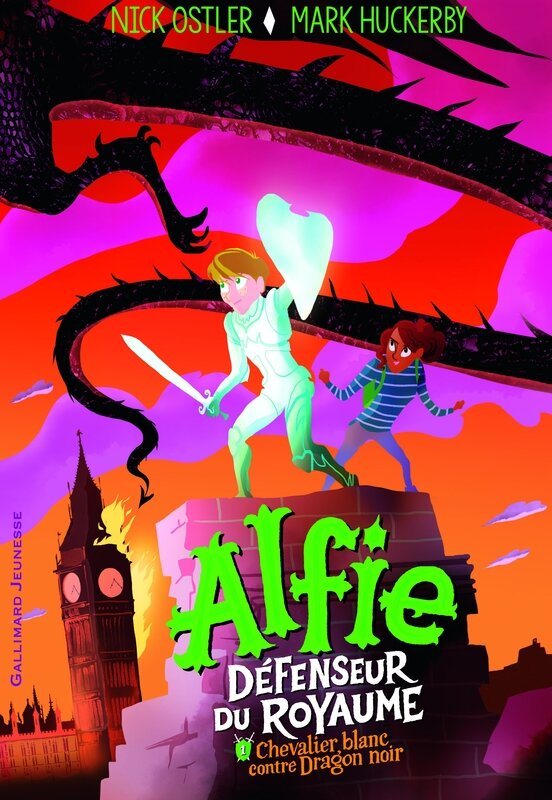 Alfie Chevalier blanc contre Dragon noir