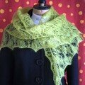 flower basket shawl en ksh de rowan