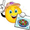 Les photos de toutes les salades que je propose sur ce blog
