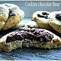 Cookies chocolat fleur de sel