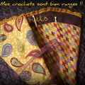 Pochette pour ranger les crochets