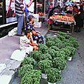 Scènes de rue : album de l'été au marché de lamia (août)
