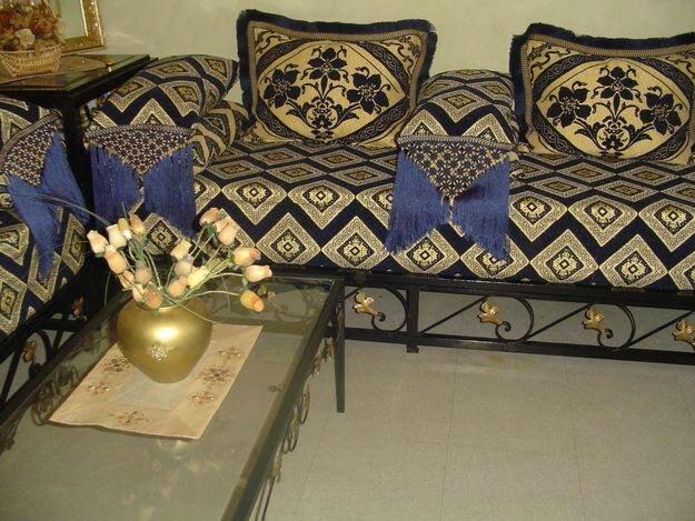 magasin de vente salon au maroc marco d coration orientale. Black Bedroom Furniture Sets. Home Design Ideas