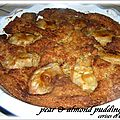 POIRES & AMANDES PUDDING CAKE 