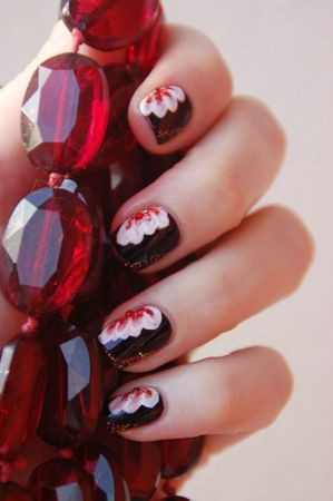 Nail art one stroke2