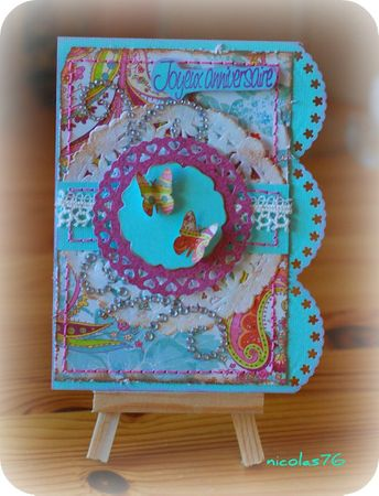 Carte inspiration shabby