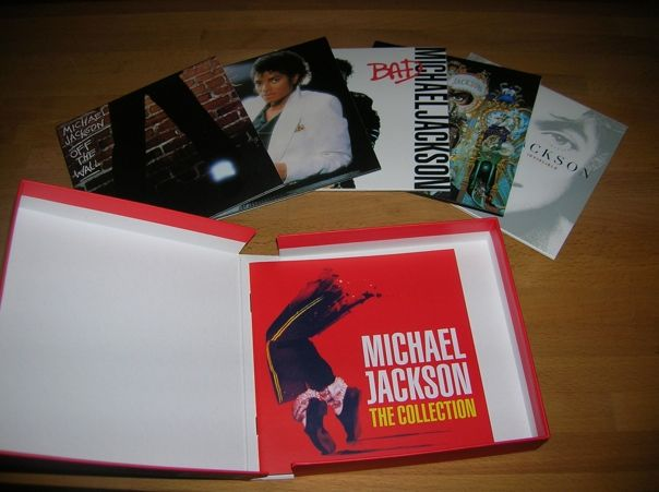 the collection coffret 5 cd album michael jackson collection. Black Bedroom Furniture Sets. Home Design Ideas