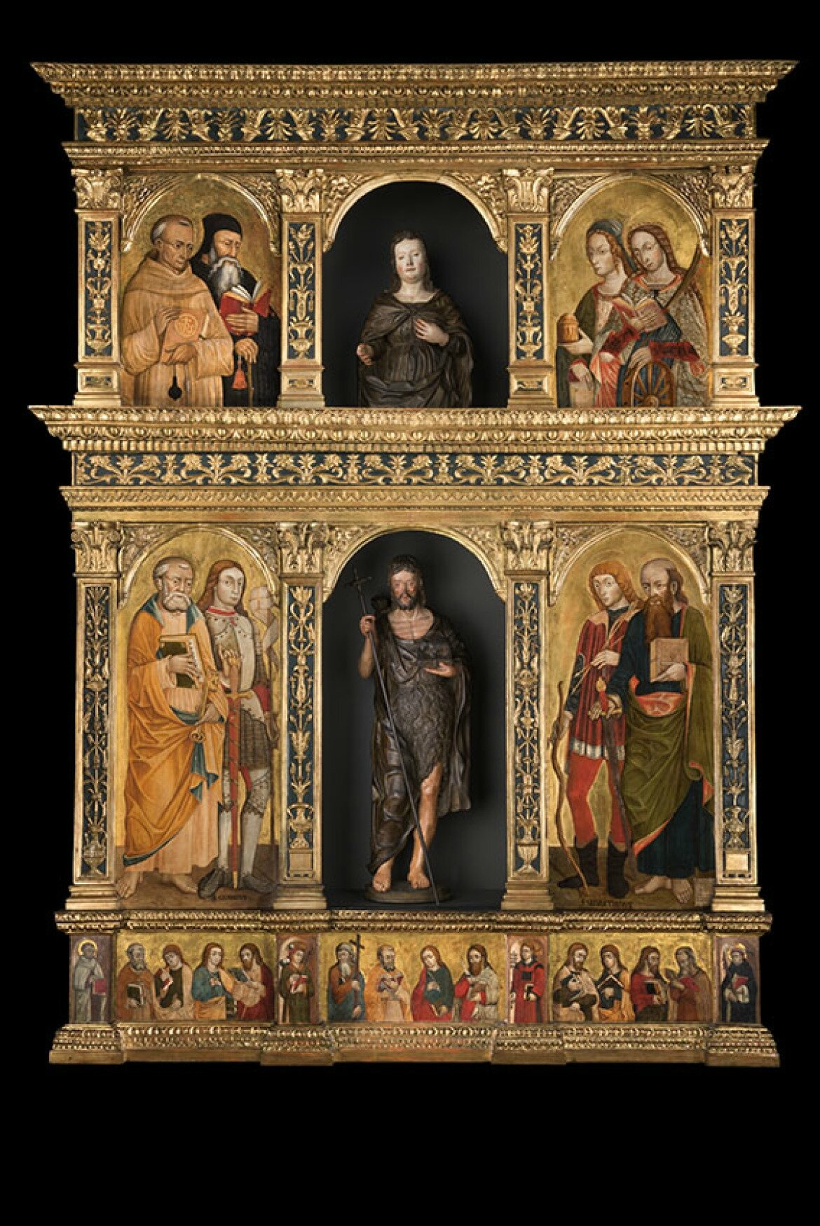 Bagatti Valsecchi Museum presents the restoration of the Marinoni Polyptych