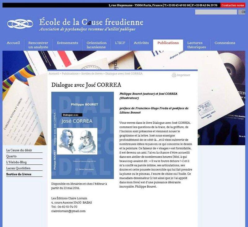 Présentation du livre Dialogue avec José Correa