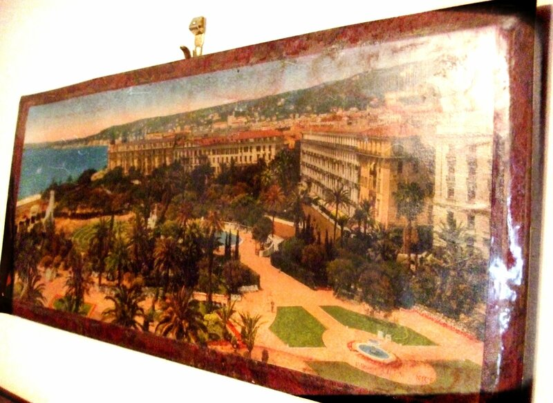 ancienne photo panoramique de nice...