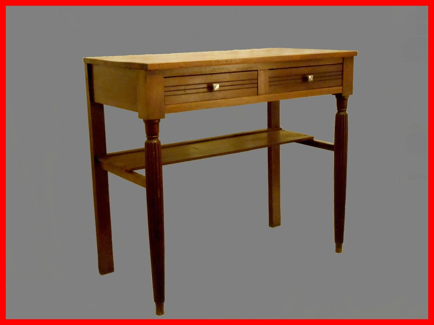 console table d 39 ecriture ancienne vendu meubles et d coration vintage design scandinave. Black Bedroom Furniture Sets. Home Design Ideas