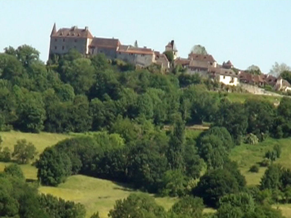Flâneries à Loubressac - Lot – Un des plus beaux villages de France