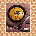 Soupe 3 c (courge, carotte et lait de coco)