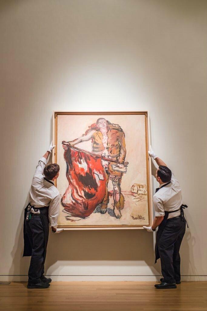 Rare Georg Baselitz Masterpiece Set To Break Artist Record At