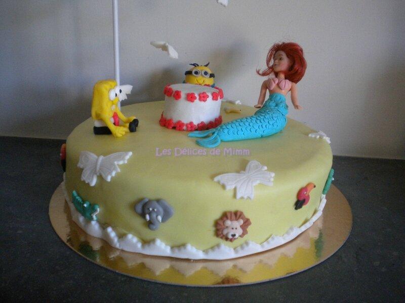 Gâteau Sous un nuage (Gravity cake) 5