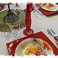 Table de Noël 124