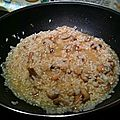 Premire mise  l'honneur // Risotto aux champignons