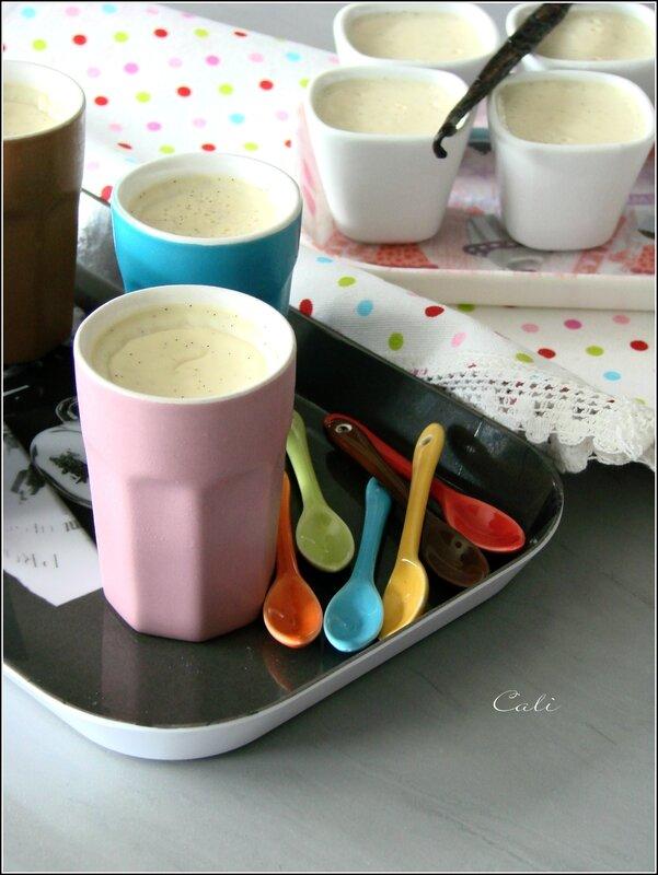 Petites Crèmes Vanille à la Maïzena 004