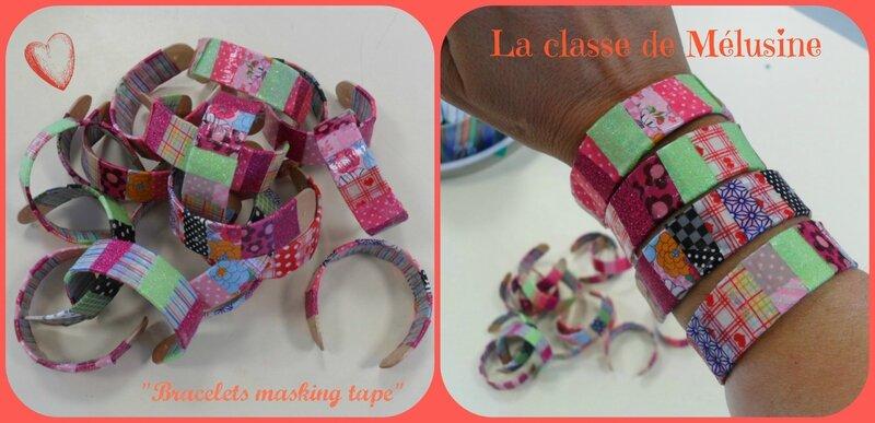 bracelets masking tape