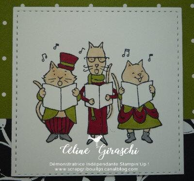 Cartes de voeux Santa Paws -3