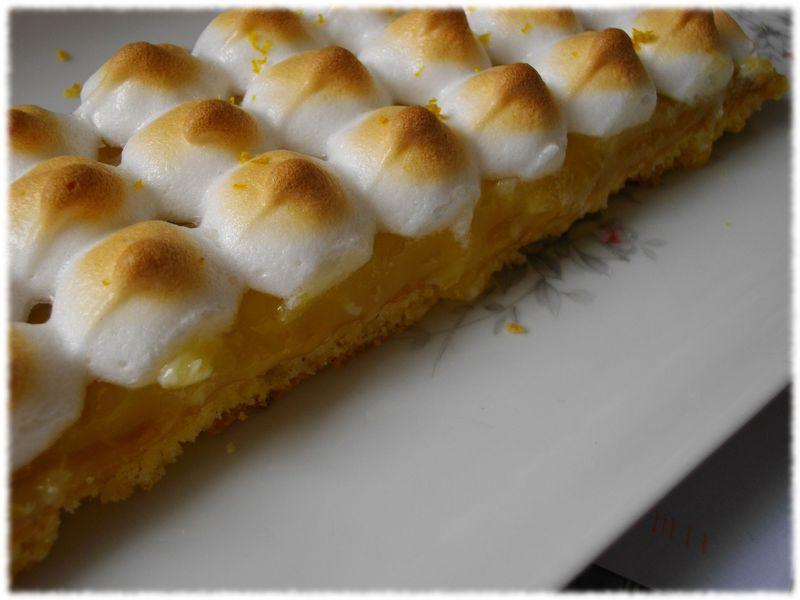 Participation au concours les d lices de reinefeuille tarte au citron meringu e sur palet - Fond de tarte palet breton ...