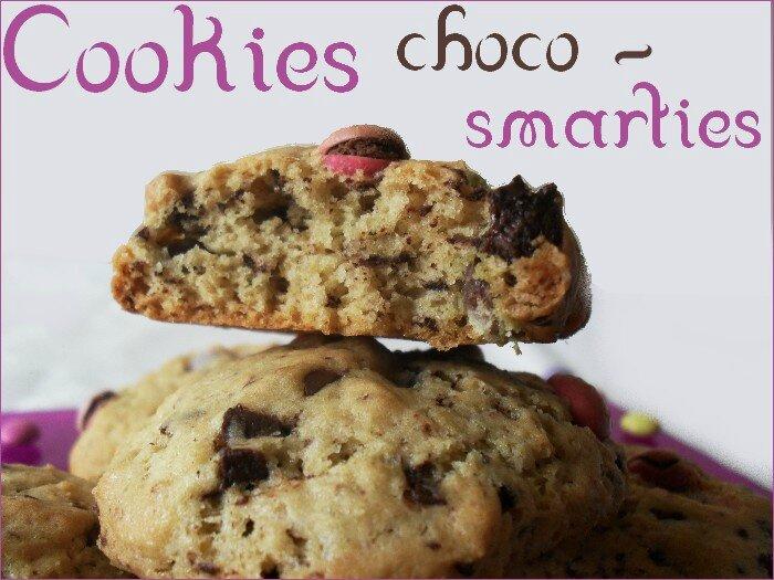 cookies choco-smarties 3