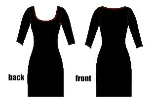 Closet Case - Nettie dress - PRN black