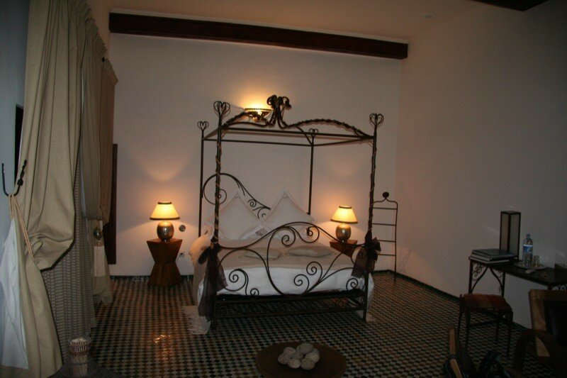 CHAMBRE A COUCHER RIAD LAAROUSSA Fes