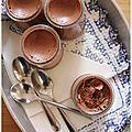 Mousse au chocolat, légère comme un nuage !