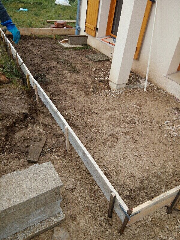 comment faire un coffrage pour dalle beton un toit With comment faire un coffrage pour terrasse