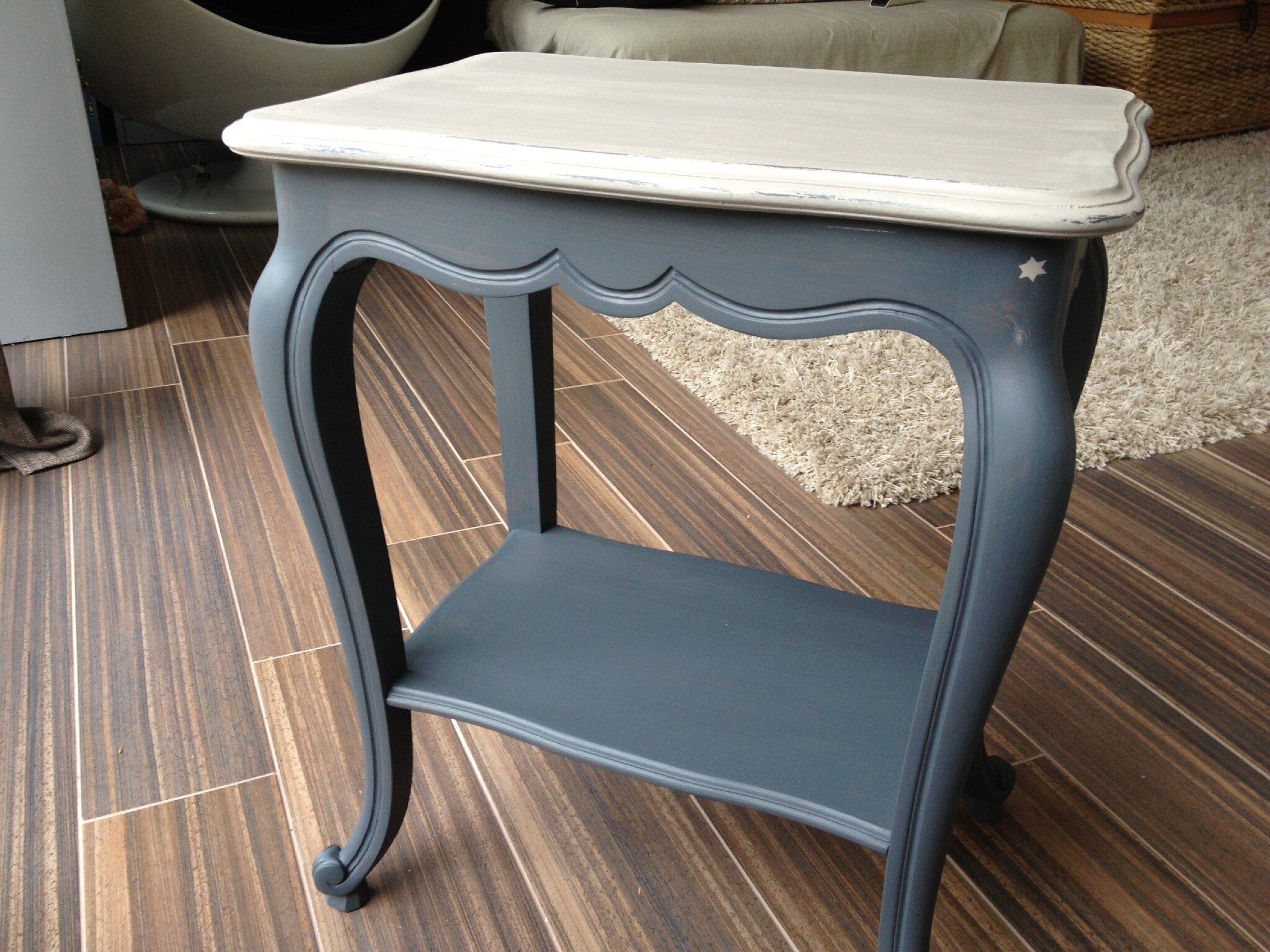 Relooking meubles et objets album photos la fabrique de l onie - Relooker table merisier ...