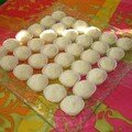Petites bouchees a noix de coco